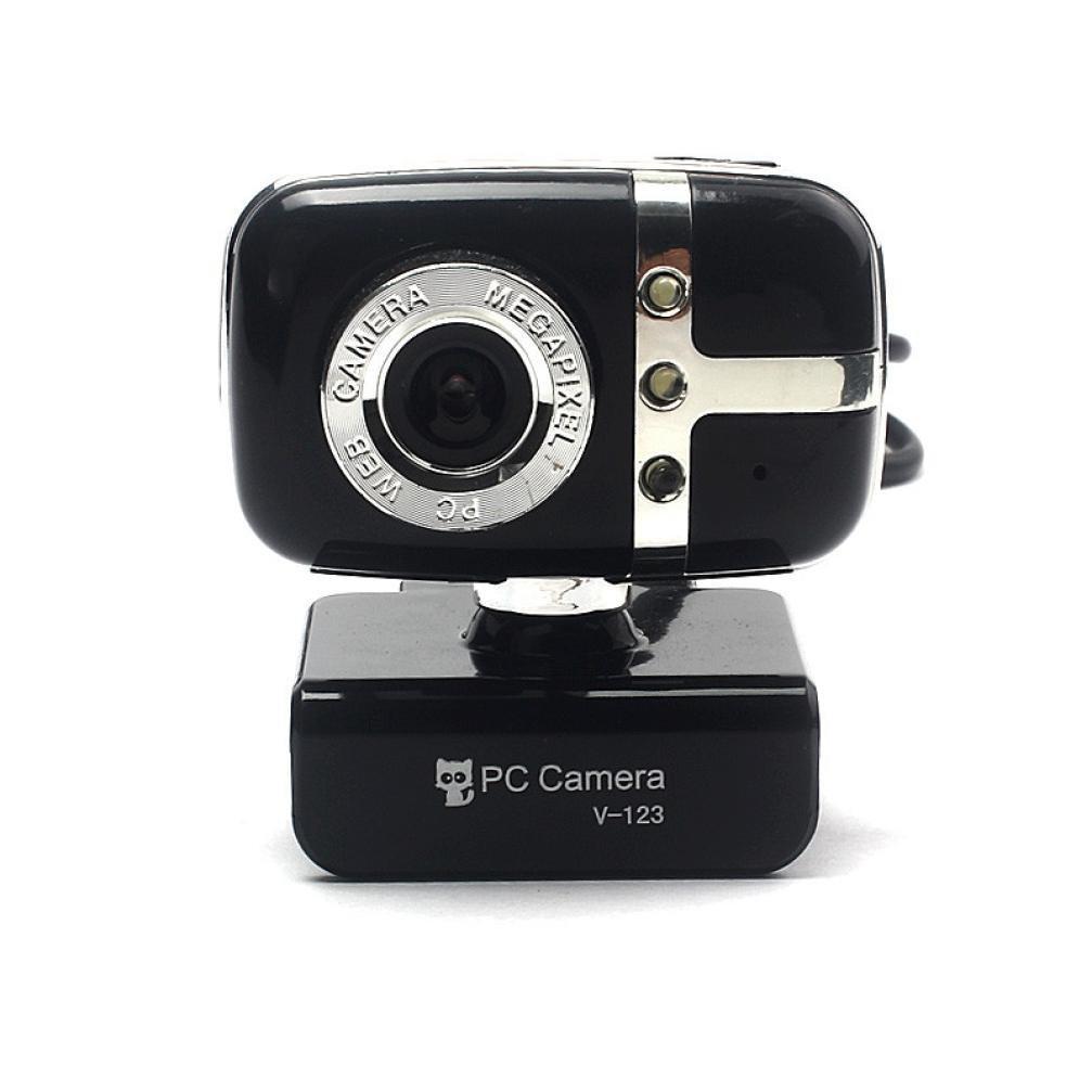 Egmy Hot! 2016 Quality Product USB 2.0 HD Webcam Web Cam Camera With Mic For Computer Laptop Desktop(Black)