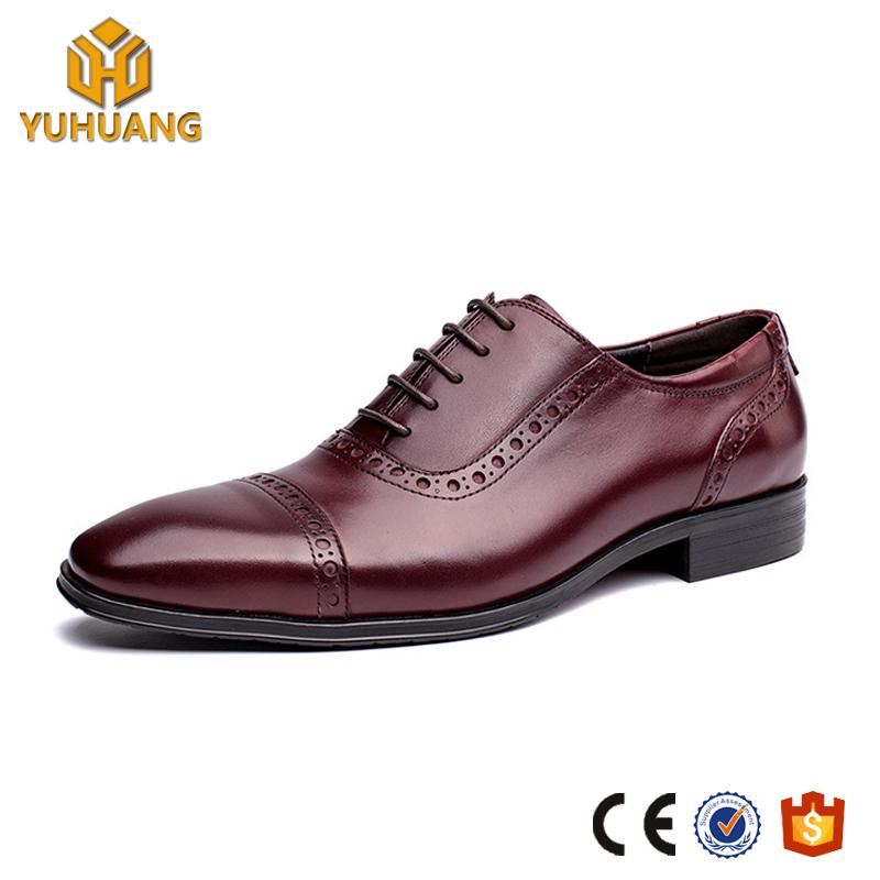 Office Shoes Dres Leather Brogue Men's Shoes Oxfords Retro Business xqaX887