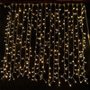 3x2M 220L led curtain light of warm white color, warm white led curtain lights