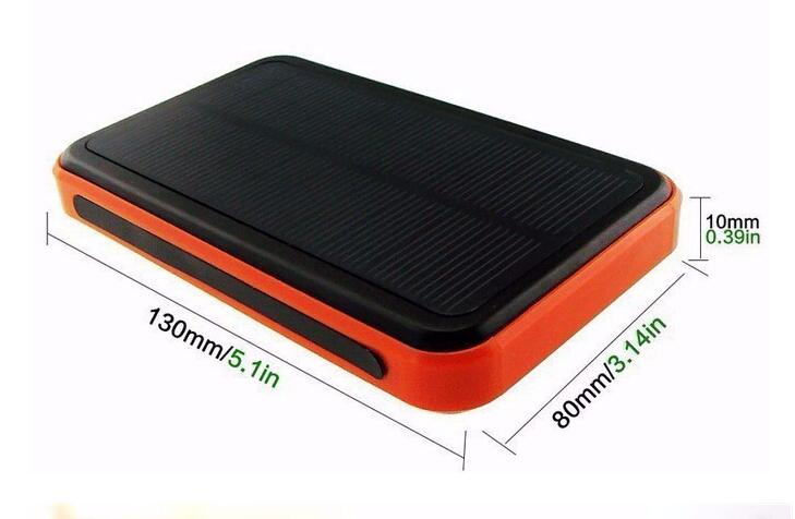 OEM Solar Power bank 10000mAh solar charger External Battery for all phone Portable Charger