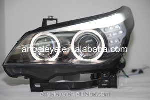 E60 523i 525i 530i Head Light LED Angel Eyes For BMW original car with HID kit 2004-08 Year