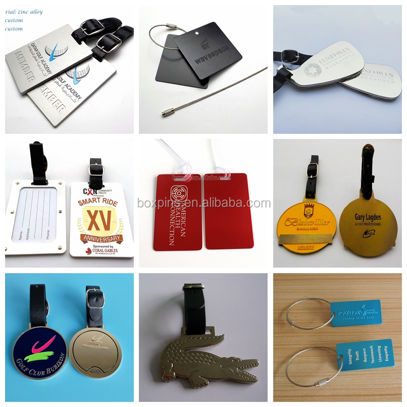 Personalized Embossed 3d Suitcase Shape Waterproof Soft PVC Luggage Tag Promotional