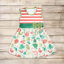 2017spring new style baby girls dress designer long frocks images frock cutting photos