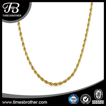 black rope chain product trendsmax mens stainless products steel necklace image wide