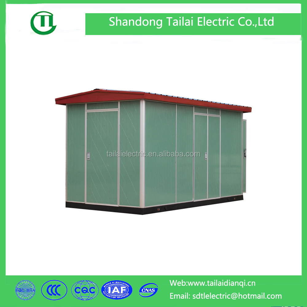 ZGS 11 series outdoor prefabricated compact 11kv substation