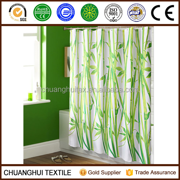 Bamboo Print Shower Curtain, Bamboo Print Shower Curtain Suppliers ...