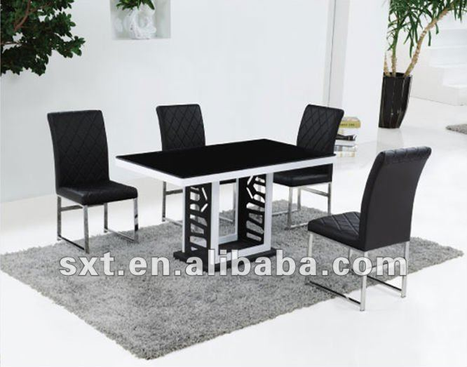 Latest Design Metal Glass Top Dining Table Modern Buy Latest Designs Of Dining Tables Glass Top Metal Base Dining Table Dining Table With Glass Top