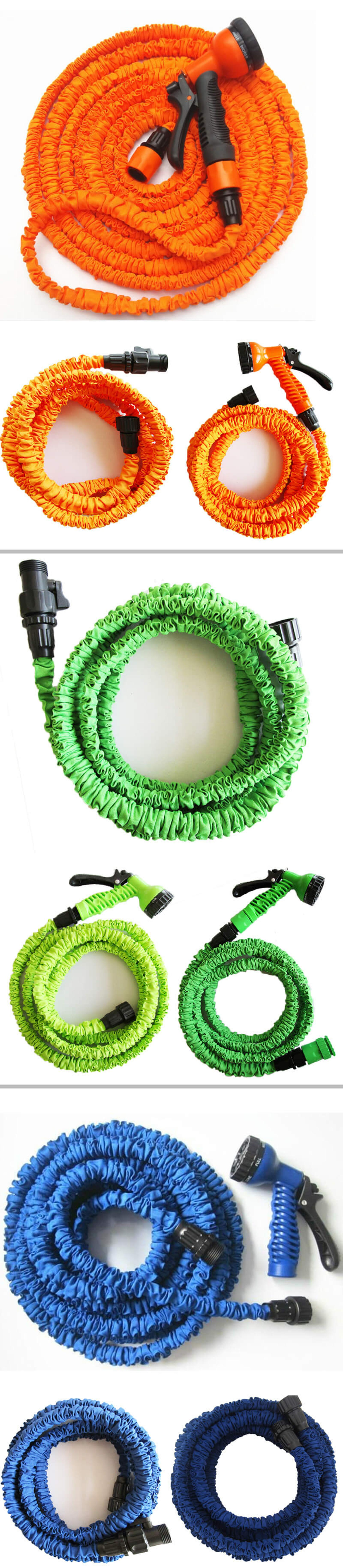 Magic Expandable Flexible Garden Water Water Pipe Hose Sprinkler Assembly