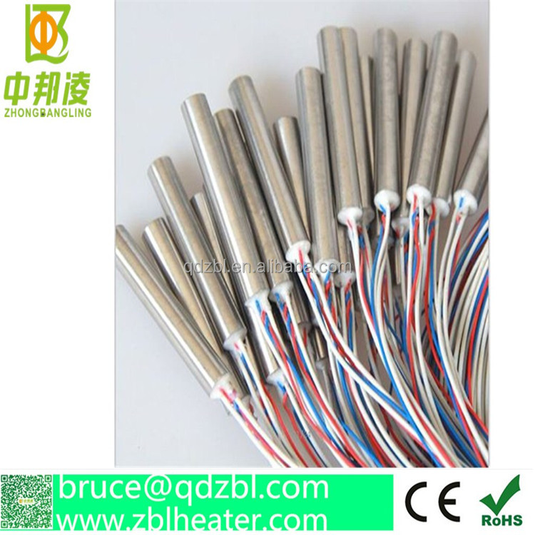 Cartridge tube heater in industries,Electric tube heater