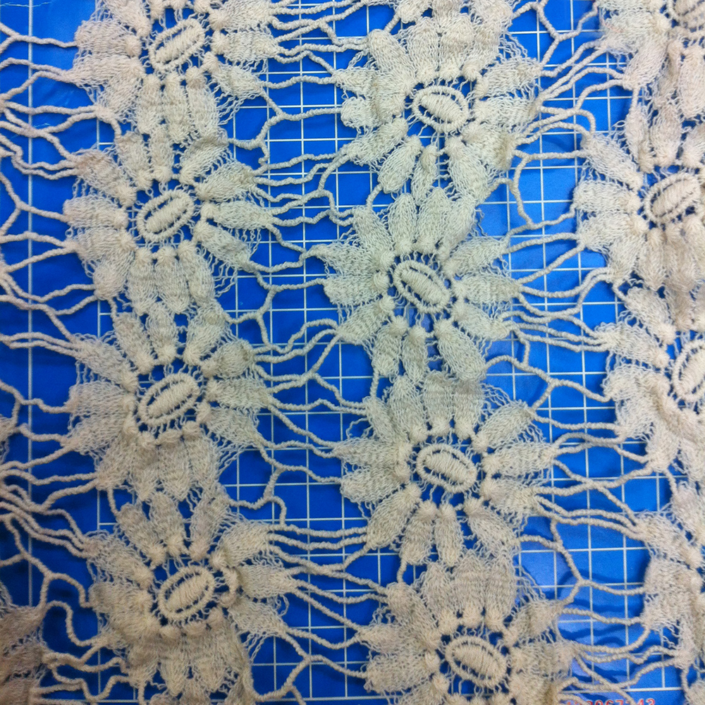Fresh style turkey cord lace fabric for lady clothes/garment BK-FB478