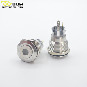 BIJIA 19mm 5a push button switches dpst 5 position switch 4 pins