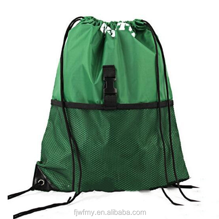 BINGONE Drawstring Bag Nylon Folding Backpack Home Travel Sport Storage