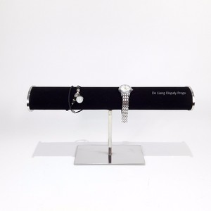 DL802 T bar bracelet jewelry display rack factory in china Luxury high end display rack holder display stand counter