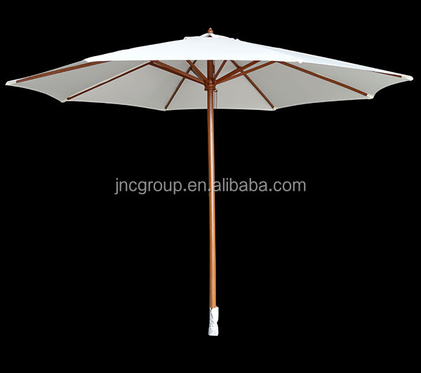 China wholesale wooden frame outdoor umbrella