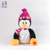 "8 ""Pinguïn Pluche Met Lullaby Baby Sleep LED Touch Light Up Speelgoed nachtlampje pluche"