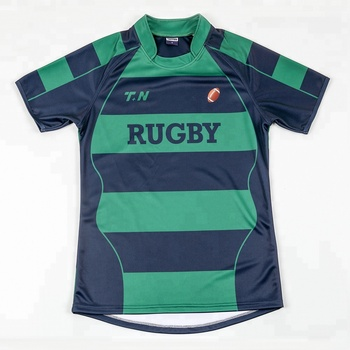 4bc5158fe7 Wholesale Custom Design Sublimated Striped Rugby Jersey - Buy ...