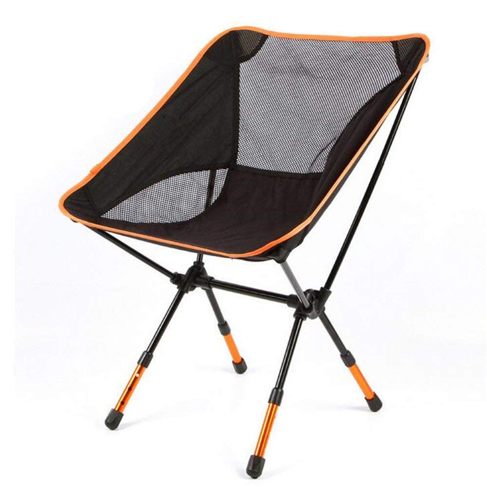ARAYACY Bump-Bend Thick Ultra-Lightweight Folding Stool With Aluminum Folding Chair Multi-Purpose Fishing Chair Car