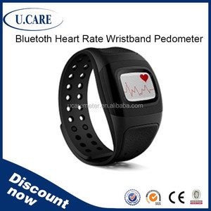 Bluetooth iOS Andriod smart watch heart rate, watches with heart monitor