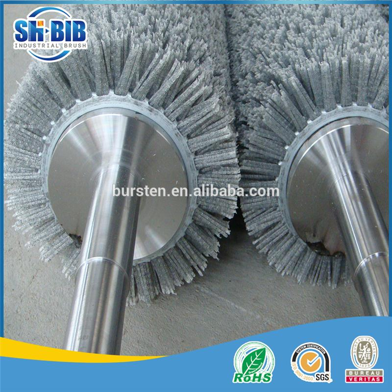 scrubbing roller brushes