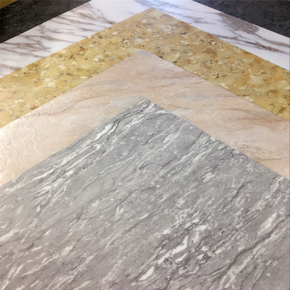 wholesale direct loose lay vinyl pvc floor tile with stone or carpet design