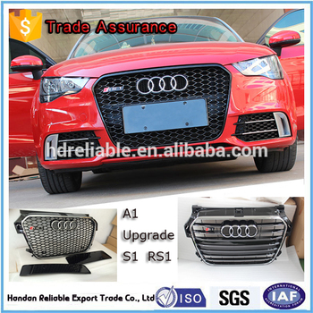 sport grill for audi a1 suitable for a1 s1 2012 2015 for. Black Bedroom Furniture Sets. Home Design Ideas