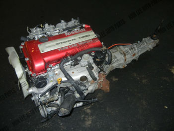Jdm Used Engine Engine With Manual Gear Box For Car Nissan Sr20det Sr20  Turbo S13 180sx 240sx Redtop - Buy Used Engine Sr20det Sr20,Used Engine,Jdm