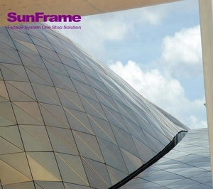 Sun Frame PVDF powder coating 4mm aluminum composite panel