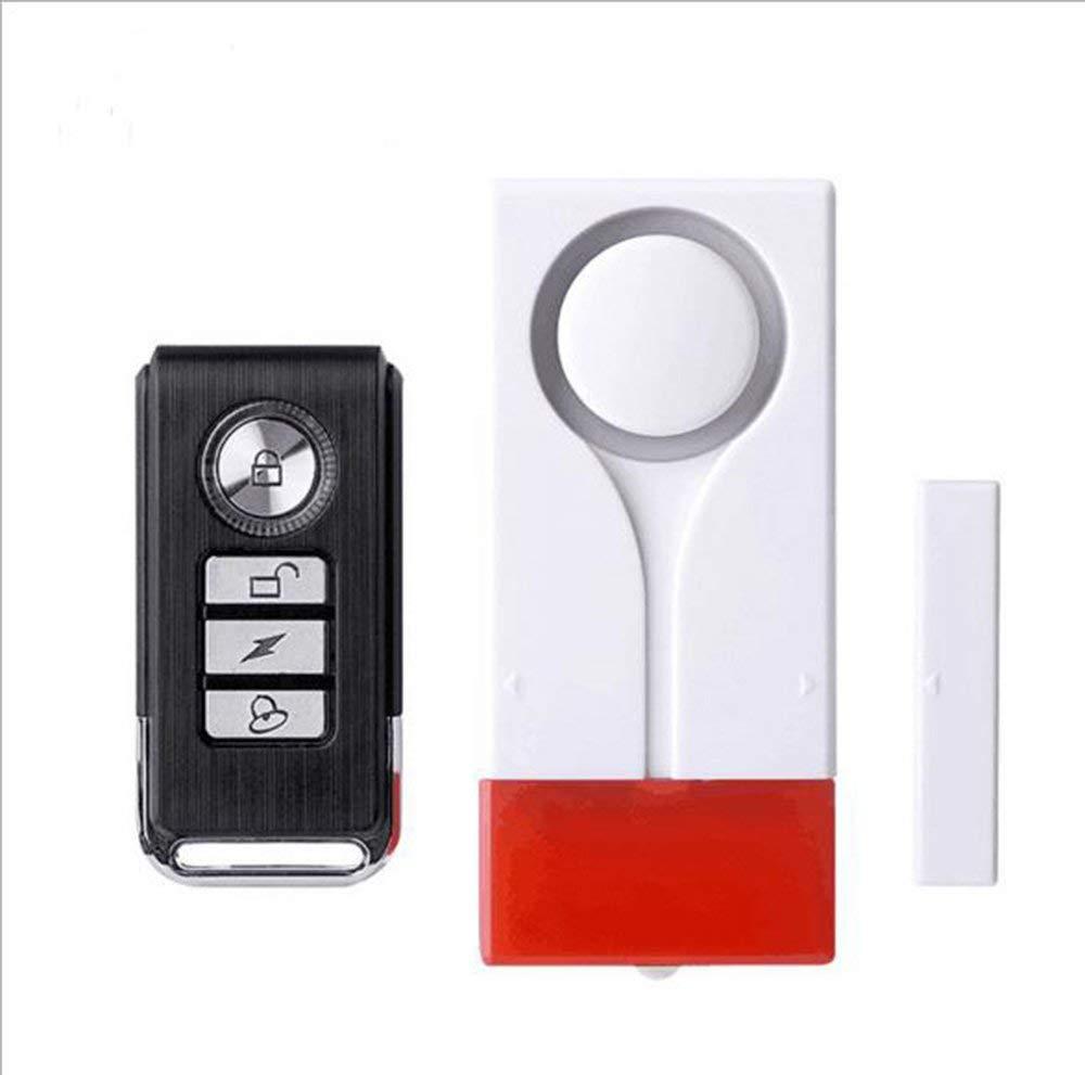 Wireless Anti-theft Door Magnetic Alarm Lianshi Home Smart Remote Control Vibration Dual Door Magnetic door and window alarm