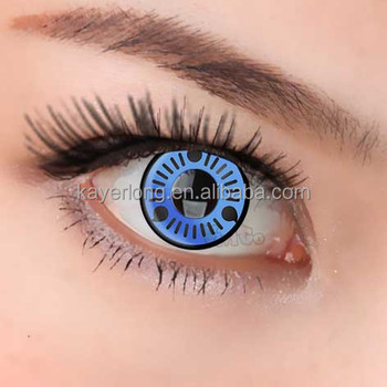 Sharingan Cosplay Color Contact Lenses Cl143 Naruto Series Blue Sasuke Buy Color Lensescosplay Contact Lensescrazy Contact Lenses Product On