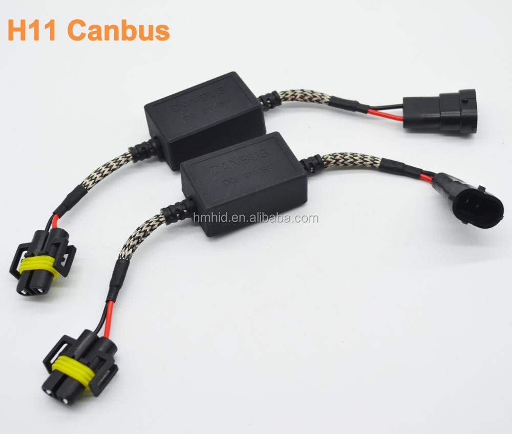 H1/h3/h7/h8/h9/h10/h11/9005/9006 Canbus Eliminate Error Free Load Resistor  Led Decoder Canceller - Buy Led Decoder Canceller,H11 Canbus Led,Led Error