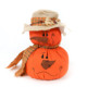 Bulk Custom Harvest Celebrate Decorative Pumpkin Ornaments