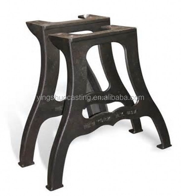 OEM China manufacturer cast iron bench legs