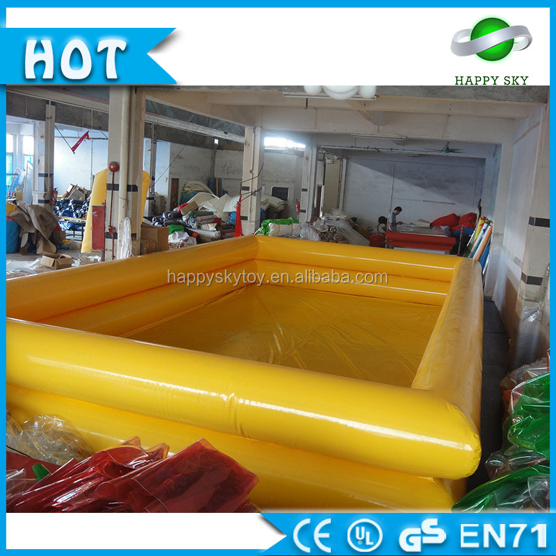 100% PVC Double inflatable swimming pool , inflatable pool for kids, home family inflatable pool