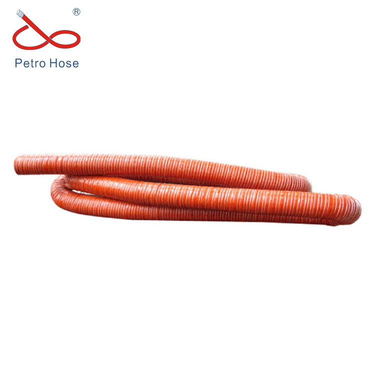 Suction and blast hose,especially suitable as Suction and blast hose conductor of hot and cold air SIL260
