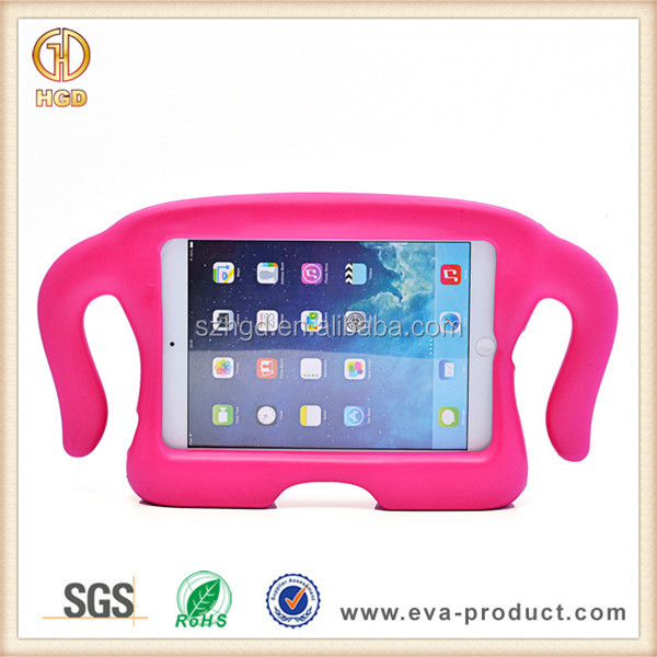Kids soft eva ligero caso para ipad mini, Para ipad mini case eva