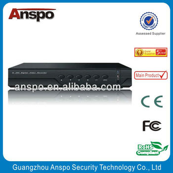 Anspo ONVIF Embedded Standalone DVR 4 Channel 1080P Real Time DVR Digital Video Recorder