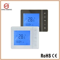 AB01WE Floor Heating Systems Flush-mount Room Thermostats