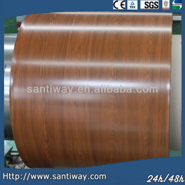 40 - 275 g/m2 Zinc Coating 700 -1250mm Width EN 10169 DX51D+Z Color Coated Steel Coil