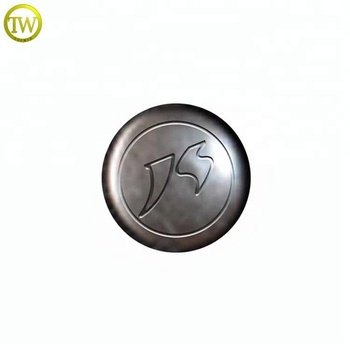 Wholesale metal snap jeans button and rivets 17mm with logo for clothes