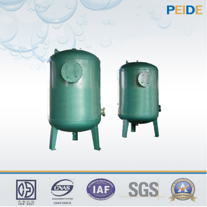 Industrial activated carbon steel water filter