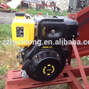HR186FA diesel engine, CF diesel motor, flat key axis air-cooled diesel engine widely used in small jaw crusher
