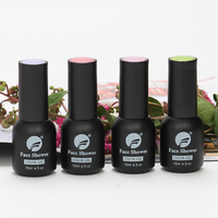 Hot sale 15ml professional Organic uv color Gel Nail Polish green style gel polish for nail art