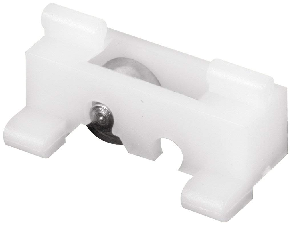 Slide-Co 17402 Sliding Window Roller and Guide Assembly with 5/16-Inch Flat Steel Wheel,(Pack of 2)