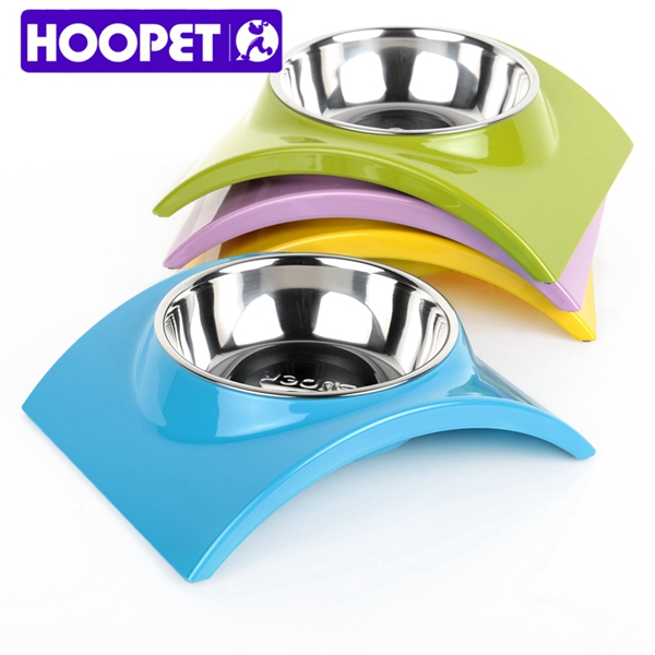 Hoopet Foldable Dog Feeding And Water Bowl No Skip