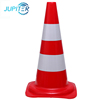 Easy to operate waterpoof orange road safety 18 traffic cone for hazardous areas