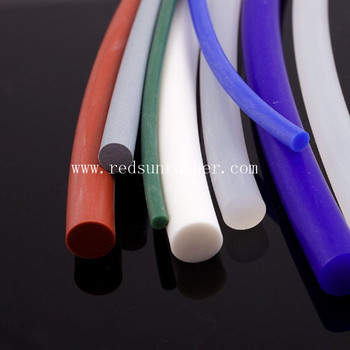Custom Soft Extruded Silicone Rubber Rods Buy Custom