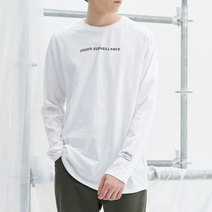 High quality custom printing logo streetwear long sleeve t-shirt