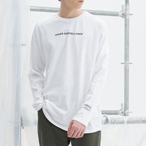 High quality custom printing logo streetwear long sleeve t-shirt