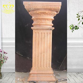 Marble Stone Roman Pillars Interior Indoor Decorative Columns - Buy ...