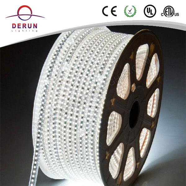 China led strip manufacturer 220v 5050 ledstrip 4000k in IP67 Waterproof